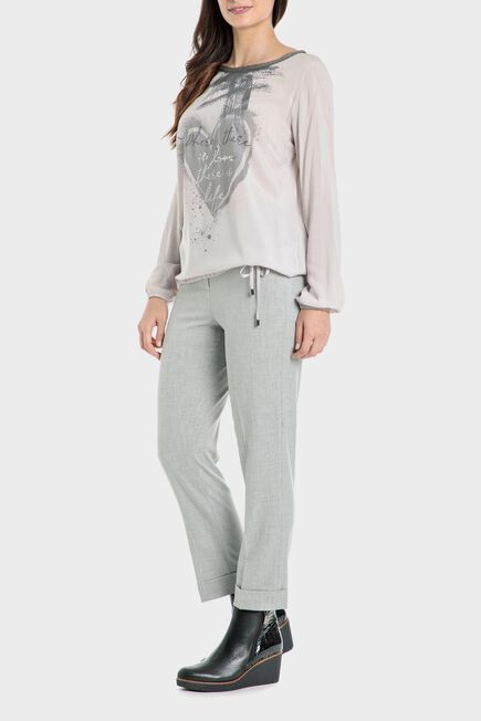 Punt Roma - Grey trousers