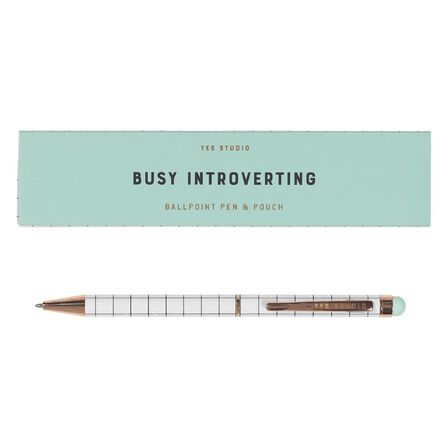 YES STUDIO - Yes Studio Busy Introverting Pen & Case