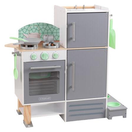 KIDKRAFT - Kidkraft 2-In-1 Kitchen And Laundry