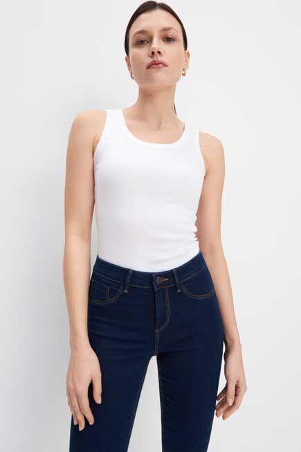 Mohito -  Organic Cotton Plain Top Eco Aware - White