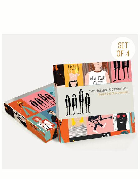 USTUDIO DESIGN LTD - Ustudio Musicians Coasters [Set of 4]