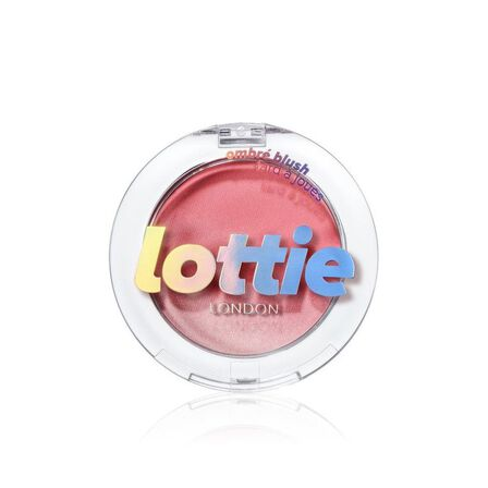 LOTTIE - Lottie Ombre Blush Duo Tone Ombre Powder Blush Exposed Light Pink