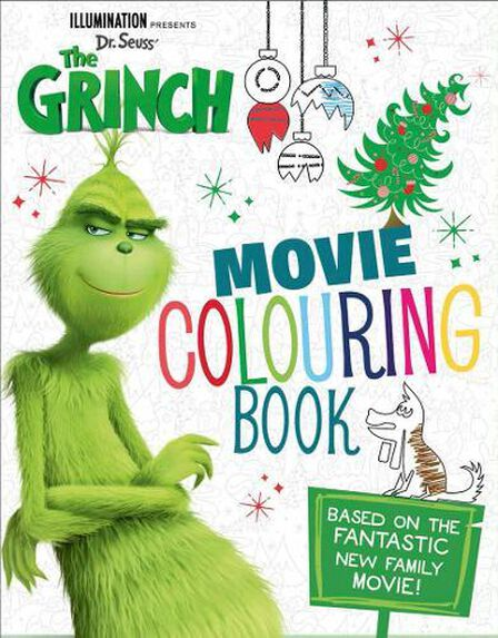 HARPER COLLINS UK - The Grinch Movie Colouring Book Movie tie-in