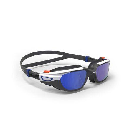 NABAIJI - Small  500 SPIRIT Swimming Goggles, Size S Black Blue, Mirror Lenses, Magnolia