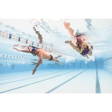 NABAIJI - 500 silicone swim cap blue
