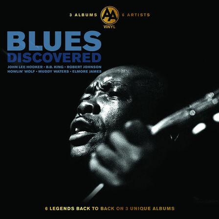 BELLEVUE PUBLISHING & ENTERTAINMENT - Discovered Blues (3 Discs)   Various Artists