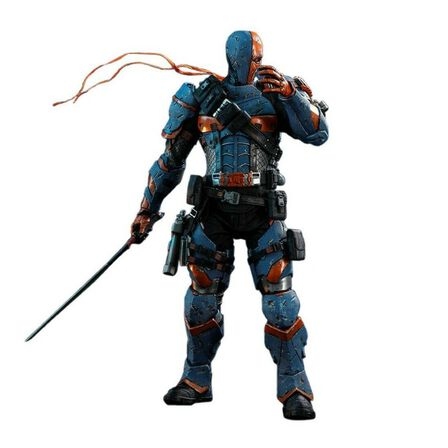 HOT TOYS - Hot Toys Deathstroke Batman Arkham Origins Video Game Masterpiece Series Sixth Scale Figure 1/6 Scale