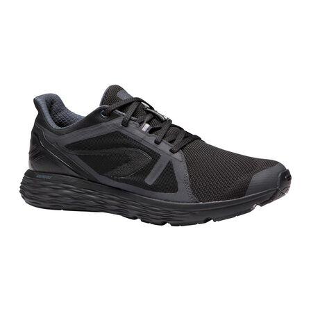 KALENJI - EU 41  Run Comfort Men's Running Shoes, Black