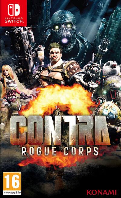 KONAMI - Contra Rogue Corps [Pre-owned]