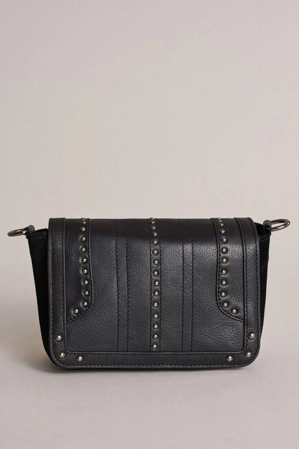Salsa Jeans - Black Leather cross-body with studs