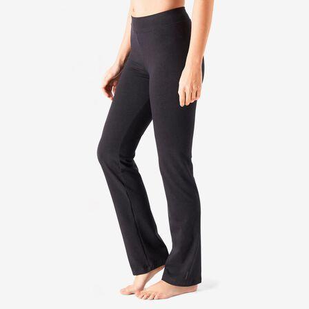 NYAMBA - W28 L31  FIT+ 500 Women's Regular-Fit Stretching Leggings, Black