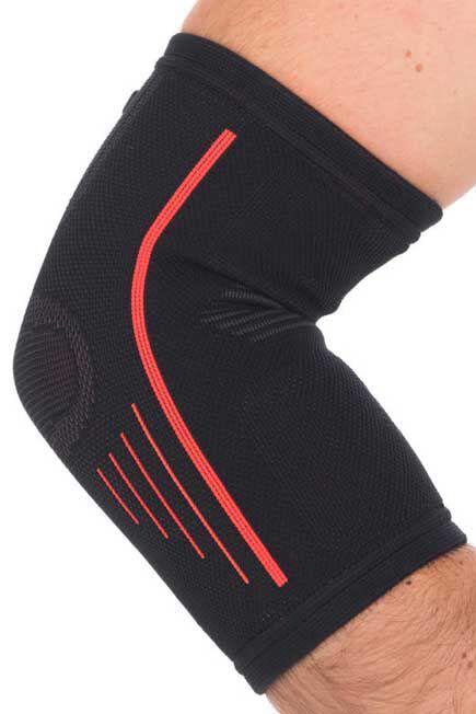 TARMAK - Soft 300 Unisex elbow support - black