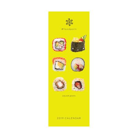 PORTICO DESIGN LTD - Portico Designs Foodporn Slim Calendar