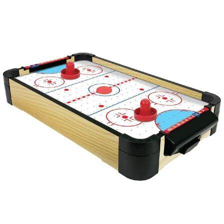 MERCHANT AMBASSADOR - Merchant Ambassador Wood Tabletop Air Hockey 20 Inch 50cm