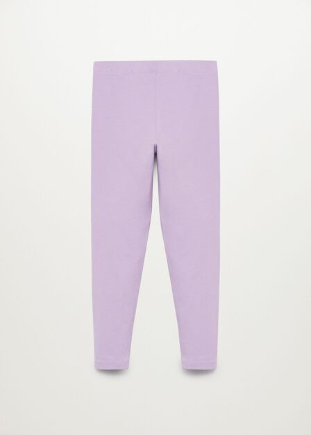 Mango - lt-pastel purple Organic cotton leggings