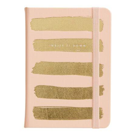 KIKKI.K - kikki.K A6 Bonded Leather Journal Thin Luxury Soft Coral