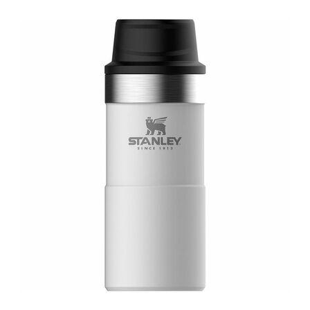STANLEY - Stanley 355ml Trigger Action Travel Mug Polar White