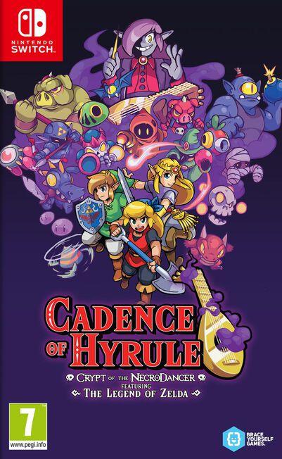 NINTENDO - Cadence of Hyrule Crypt of the NecroDancer Featuring The Legend of Zelda - Nintendo Switch