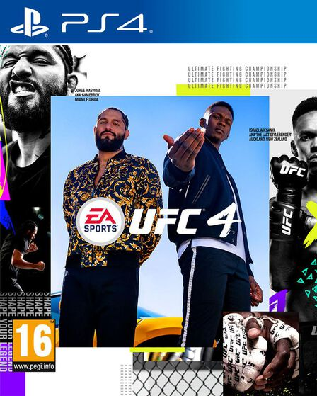 ELECTRONIC ARTS - EA Sports UFC 4 [Pre-owned] - PS4