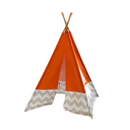 KIDKRAFT - Kidkraft Orange Teepee Tents