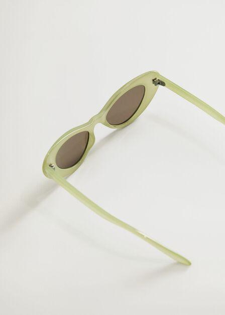 Mango - green Cat-eye sunglasses, Kids Girl