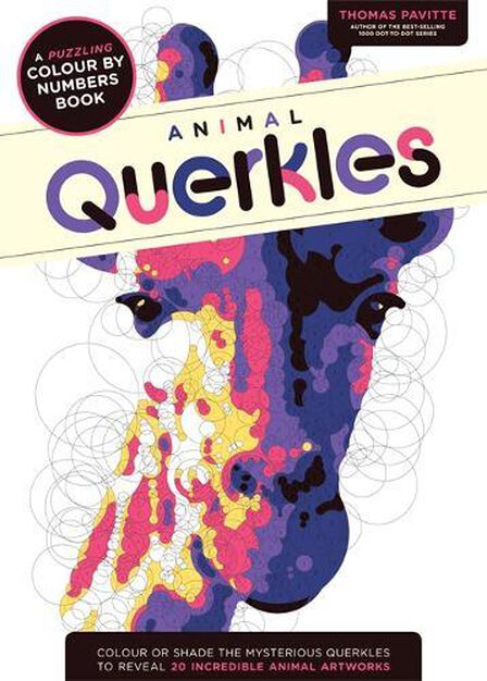 OCTOPUS UK - Animal Querkles A Puzzling Colour by Numbers Book