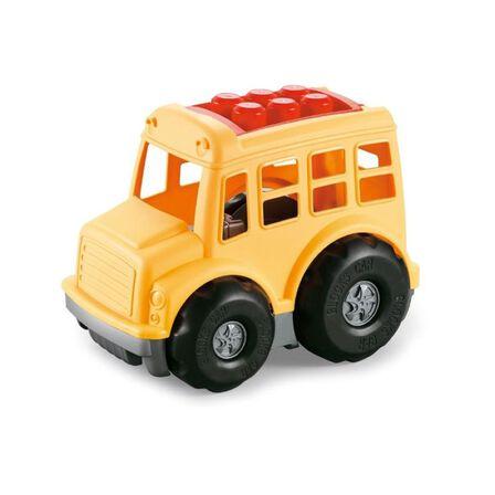 ROLL UP KIDS - Roll Up Kids Eco Friendly Cartoon Car 6 Bricks Vehicle [11 Pcs]