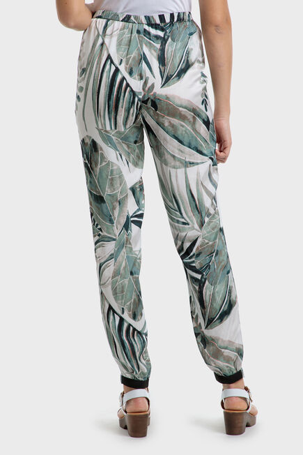 Punt Roma - Printed trousers