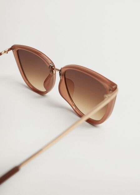 Mango - medium brown Oval sunglasses