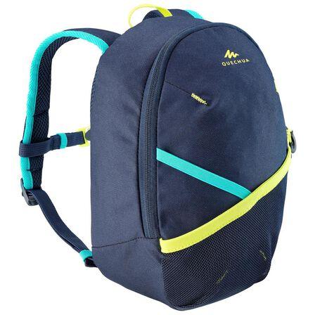 "QUECHUA - Unique Size  Kidsأ¢â'¬â""¢ Hiking Backpack MH100 5 Litres, Navy Blue"