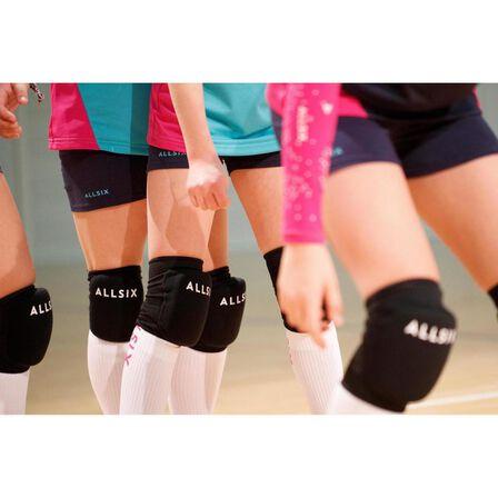 KIPSTA - V100 volleyball knee pads - black
