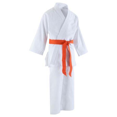 OUTSHOCK - 120 Cm Hirosaki 3500 Kids' Judo Gi - Snow White