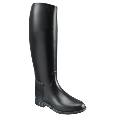 FOUGANZA - EU 40  Schooling Adult Horse Riding Long Boots - Black, Black