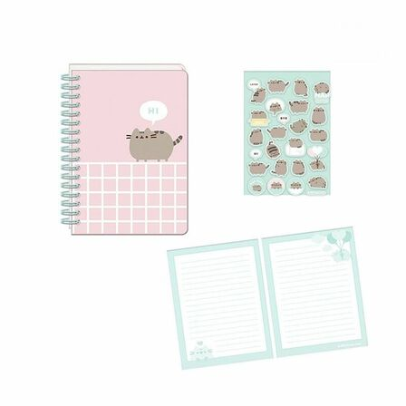 BLUEPRINT COLLECTIONS - Blueprint Collections Pusheen Sweet Dreams A5 Notebook with A5 Sticker Sheet