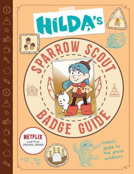 BOUNCE UK - Hilda's Sparrow Scout Badge Guide