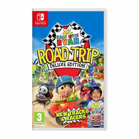 OUTRIGHT GAMES - Race with Ryan Road Trip Deluxe Edition Us Nintendo Switch