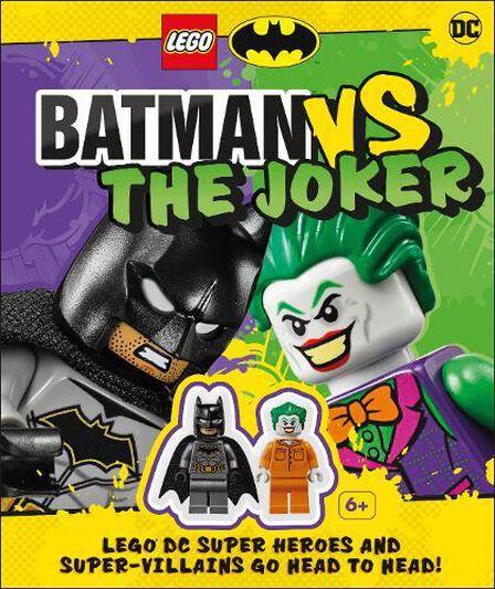 DORLING KINDERSLEY UK - LEGO Batman Batman Vs. The Joker With Two LEGO Minifigures!