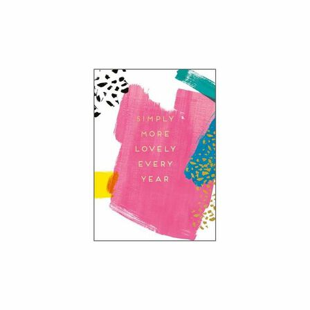 PIGMENT PRODUCTIONS - Aura Simply More Lovely Every Year Greeting Card 130X176