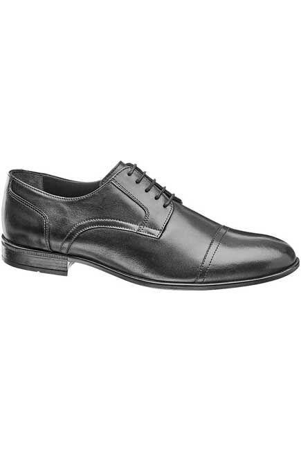 Borelli - Black Formal Shoes, Men
