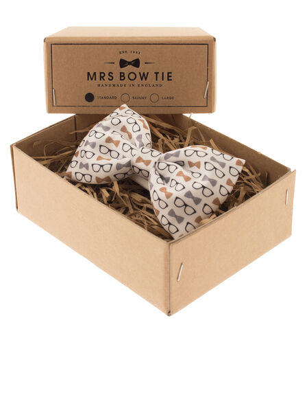 MRS.BOW TIE - Glasses & Bow Ties White
