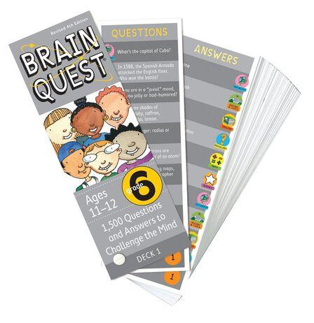 WORKMAN PUBLISHING USA - Brain Quest Grade 6 Revised 4Th Ed
