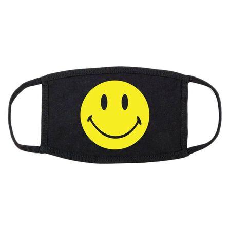 CHINATOWN MARKET - Chinatown Market Smiley Logo Unisex Black Face Mask