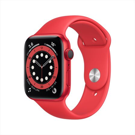 APPLE - Apple Watch Series 6 GPS + Cellular 40mm Product(Red) Aluminium Case with Product(Red) Sport Band