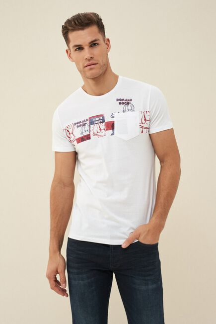 Salsa Jeans - White Donald t-shirt