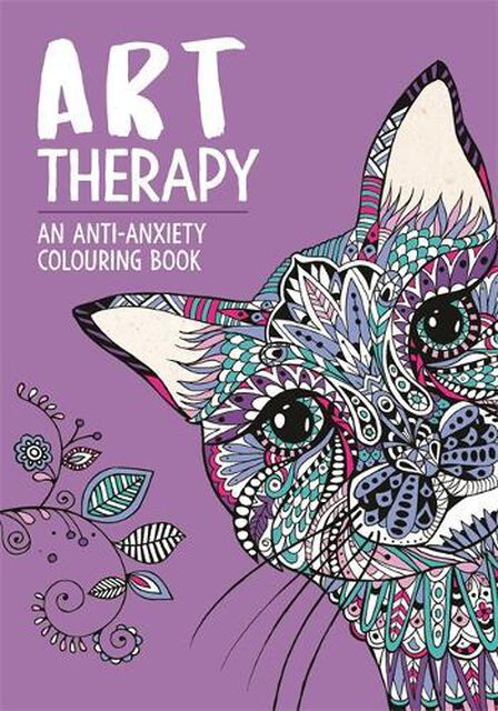 MICHAEL O'MARA - Art Therapy An Anti-Anxiety Colouring Book