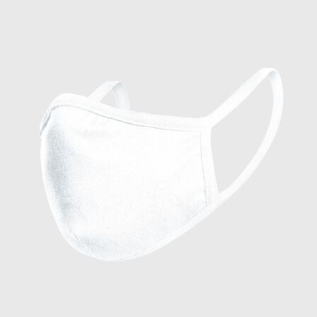 MISTER TEE - Mister Tee Fashion Unisex Face Mask White