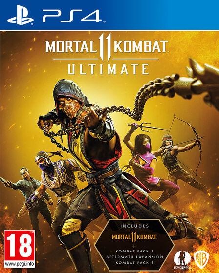 WARNER BROTHERS INTERACTIVE - Mortal Kombat 11 Ultimate - Steelbook - PS4