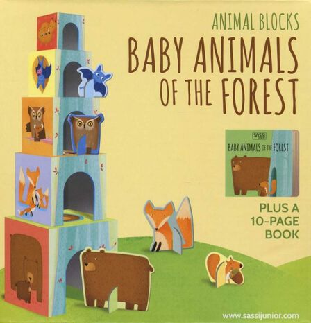 BOUNCE UK - Baby Animals of the Forest