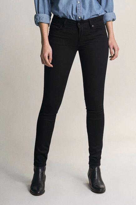 Salsa Jeans - Black Wonder push up skinny true black jeans