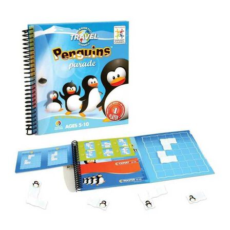 SMART GAMES - Smartgames Magnatic Travel Penguins Parade